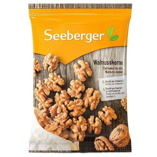 Грецкий орех Seeberger ядра, флоу-пак, 150 г арахис bruto в оболочке креветка флоу пак 45 г