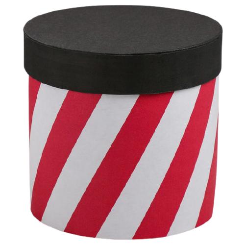 Коробка подарочная Дарите счастье Красный - белый 16 х 16 см красный/белый коробка подарочная дарите счастье с любовью для тебя 23 х 7 5 х 16 см красный белый