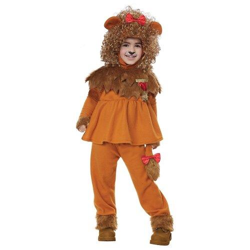 Купить Костюм California Costumes Лев из страны Оз 00183, оранжевый, размер M (3-4 года), Карнавальные костюмы