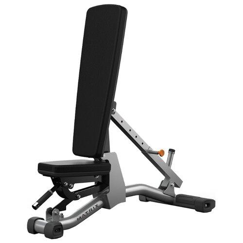 Скамья Matrix Magnum A85 черный/серый олимпийская скамья для жима matrix g3 fw14b