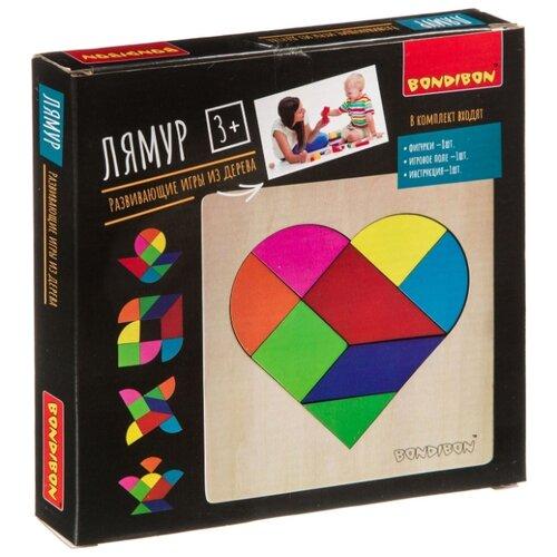 Купить Головоломка BONDIBON Лямур (ВВ4183) разноцветный, Головоломки