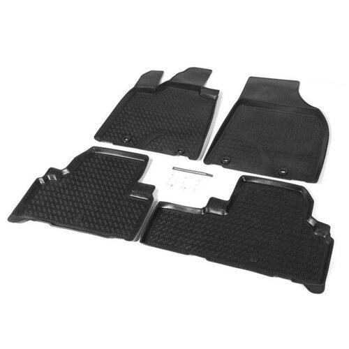 Комплект ковриков RIVAL 13201001 Lexus RX 4 шт. черный