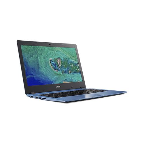 """Ноутбук Acer ASPIRE 1 A114-32-P4WU (Intel Pentium N5030 1100MHz/14""""/1366x768/4GB/128GB eMMC/Windows 10 Home) NX.GW9ER.007 синий"""