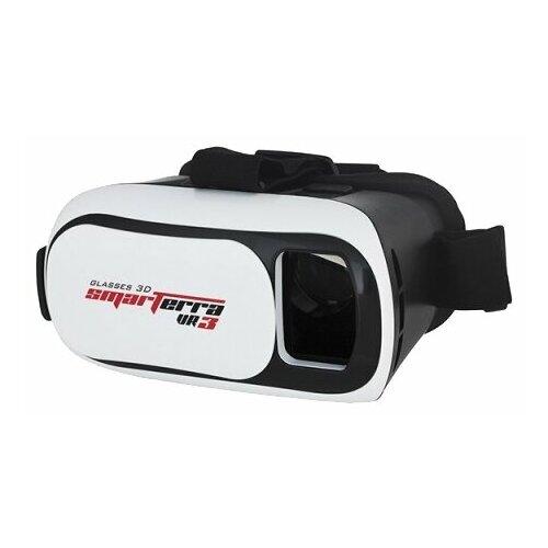 Очки виртуальной реальности для смартфона Smarterra VR3, черно-белый