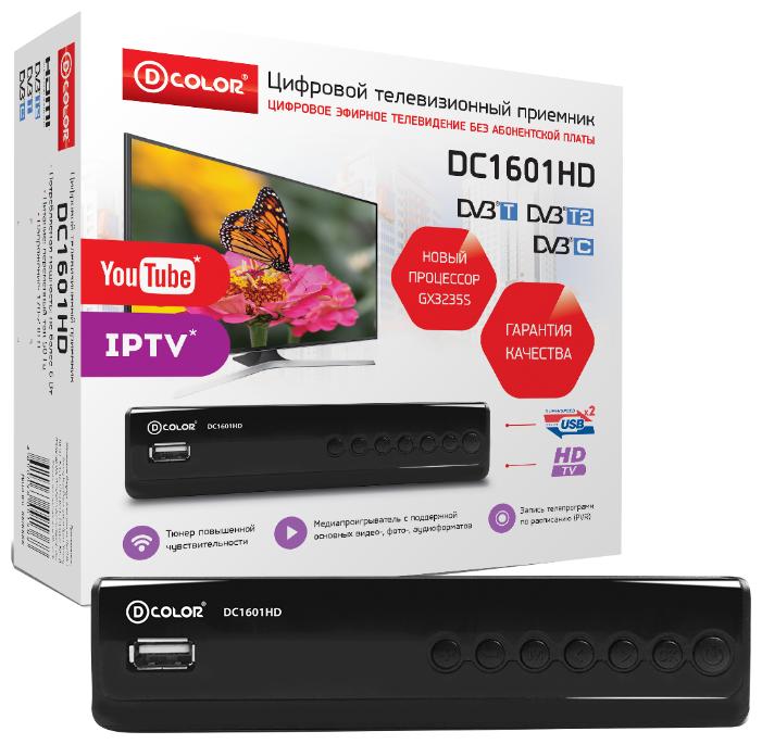 TV-тюнер D-COLOR DC1601HD
