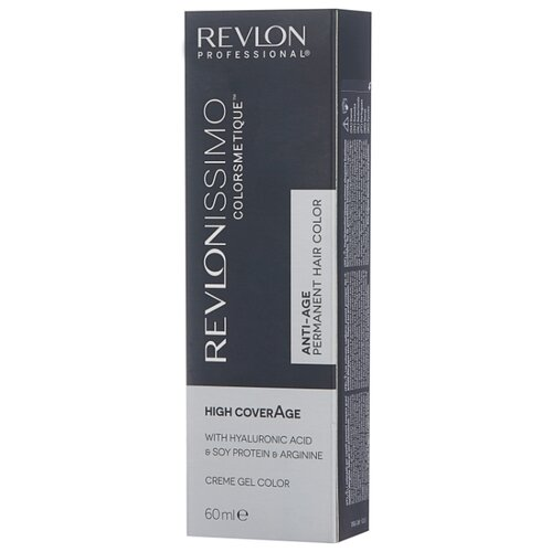 Revlon Professional Revlonissimo High Coverage стойкая краска для волос, 60 мл, 9 очень светлый блондин холодный светлый блондин