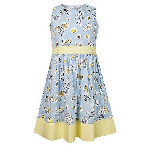 Платье Il Gufo размер 92, голубой