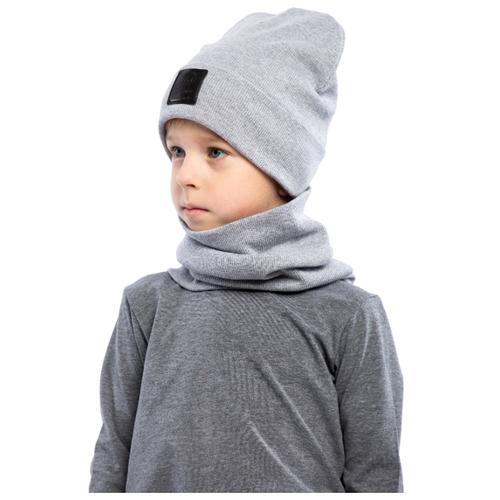 Комплект bodo размер 52-54, серый меланжГоловные уборы<br>