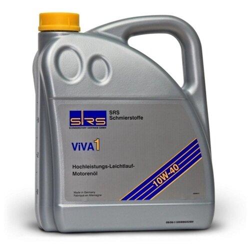 Моторное масло SRS VIVA 1 10W40 4 л протектор подошвы sidi mtb dragon srs 39 40