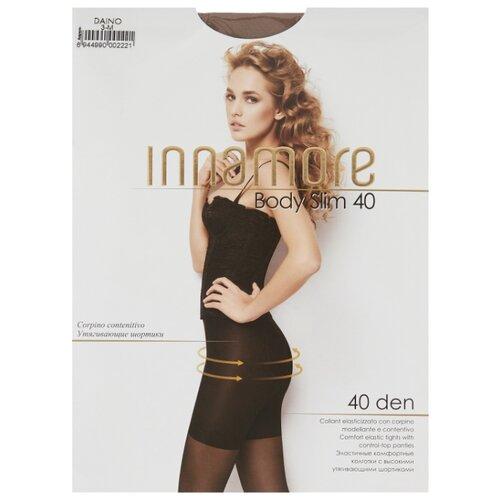 Колготки Innamore Body Slim 40 den, размер 3-M, daino (бежевый) колготки innamore fleur 40 den размер 4 l daino бежевый