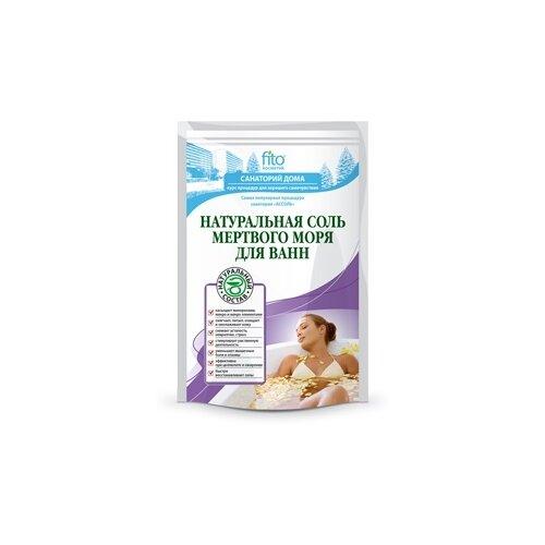 Fito косметик Санаторий дома Натуральная соль для ванн Мертвого моря 500 г fito color