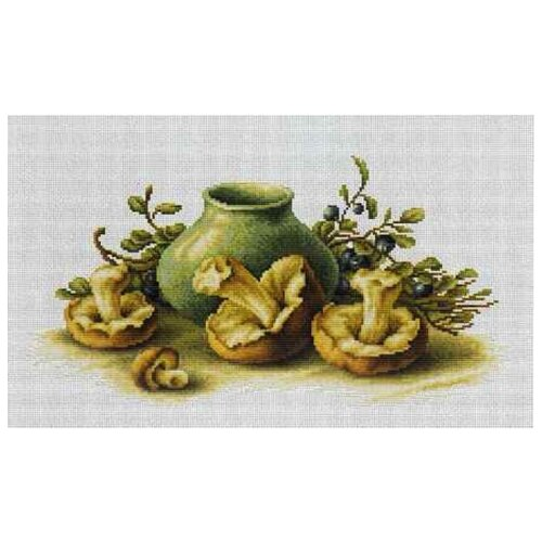 Фото - Luca-S Набор для вышивания Натюрморт с грибами, 39 х 20.5 см, B2247 набор для вышивания luca s b548 клёвое место