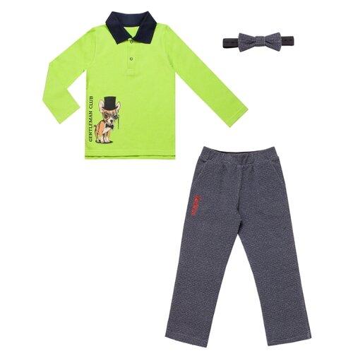 Купить Комплект одежды Апрель размер 98-52, салатовый/синий, Комплекты и форма