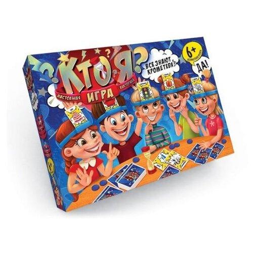 Купить Настольная игра Danko Toys Кто Я? HIM-01-01, Настольные игры