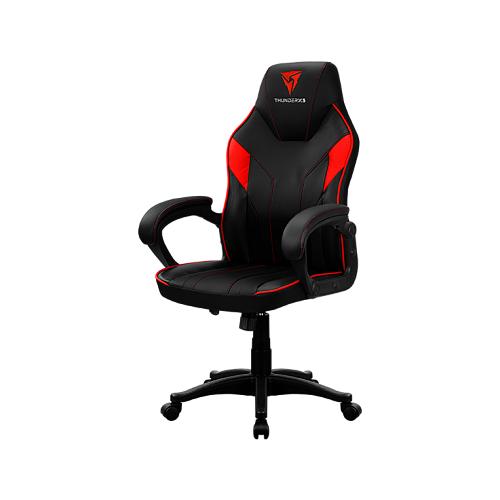 Компьютерное кресло ThunderX3 Кресло компьютерное ThunderX3 EC1 Black-Red AIR игровое, обивка: искусственная кожа, цвет: black/red кресло компьютерное игровое thunderx3 tgc12 bg черный зеленый 4710700959572
