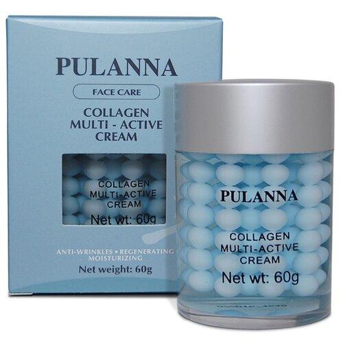 Крем PULANNA Collagen Multi-Active Cream мультиактивный с коллагеном 60 г collagen active tiande