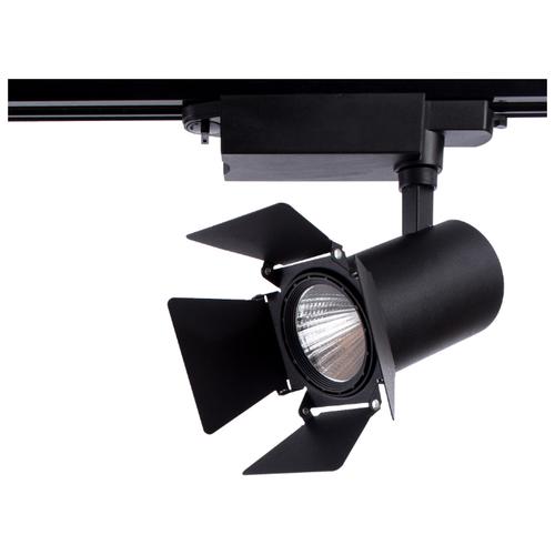Трековый светильник-спот Arte Lamp Track Lights A6720PL-1BK трековый светильник arte lamp track lights a3607pl 1bk