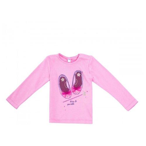 Лонгслив playToday размер 80, розовый лонгслив playtoday розовый 86 размер