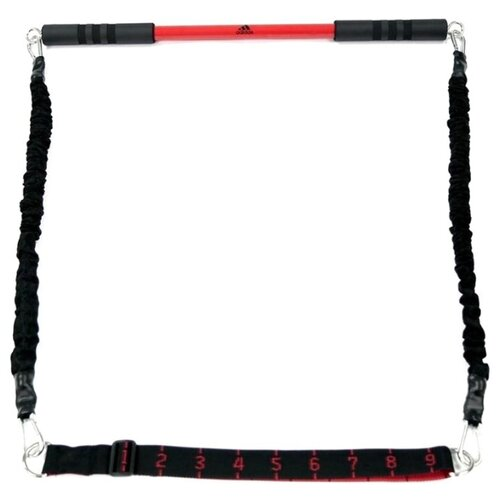 Фото - Эспандер универсальный adidas ADAC-11403 черный массажный валик adidas adac 11505bk 33 см черный