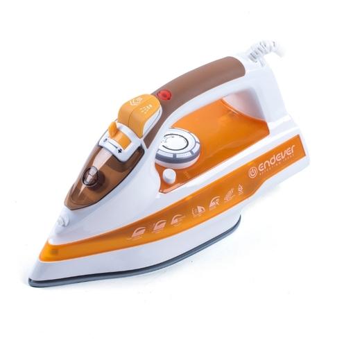 Утюг Endever Skysteam-716 2400Вт белый/оранжевый