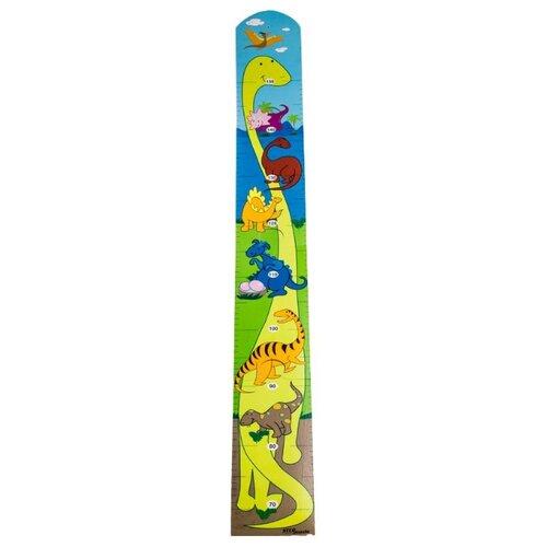 Купить Ростомер Step puzzle Динозавры (89015), Ростомеры