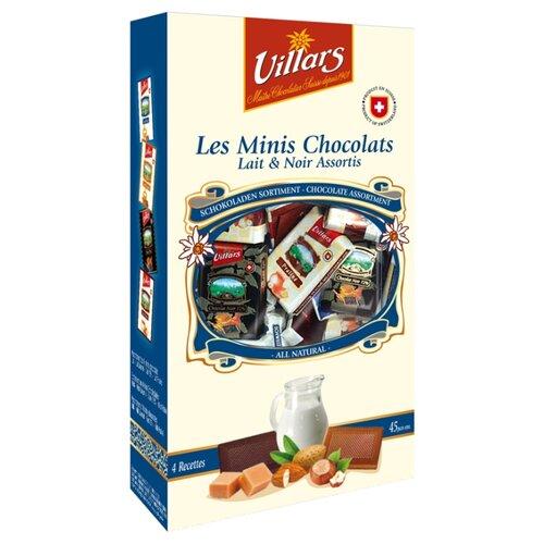 Шоколад Villars Les Minis Chocolate горький и молочный, 250 г