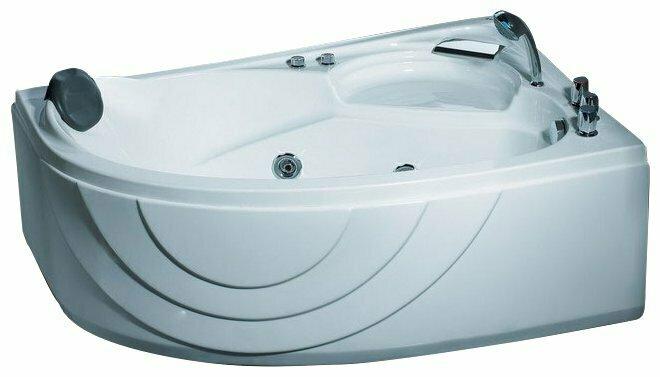 Ванна Gemy G9009 B акрил угловая