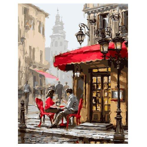 Купить ВанГогВоМне Картина по номерам Романтичный закуток , 40х50 см (ZX 20042), Картины по номерам и контурам
