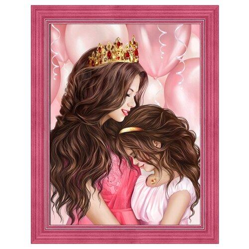 Купить Алмазная живопись Набор алмазной вышивки Моя принцесса (АЖ-1691) 30х40 см, Алмазная вышивка