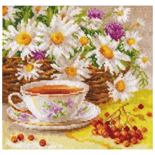 Алиса Набор для вышивания Полуденный чай 18 х 18 см (5-13), Наборы для вышивания  - купить со скидкой