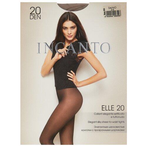 Колготки Incanto Elle 20 den, размер 2, daino (бежевый) колготки incanto elle 40 den размер 4 daino бежевый