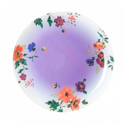 тарелка обеденная luminarc maritsa purple 26 см Luminarc Тарелка обеденная Maritsa 26 см purple