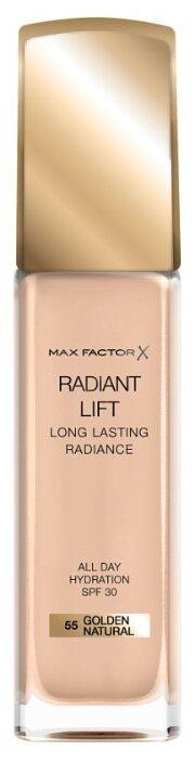 Купить Max Factor Тональный крем Radiant Lift Long Lasting Radiance, 30 мл, оттенок: 55 Golden Natural по низкой цене с доставкой из Яндекс.Маркета