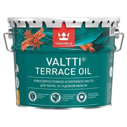 Масло Tikkurila Valtti Terrace Oil, бесцветное, 9 л