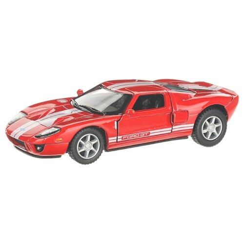 Купить Детская инерционная металлическая машинка с открывающимися дверями, модель Ford GT 2006, красный, Serinity Toys, Машинки и техника