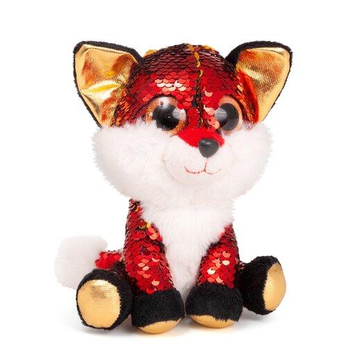 Мягкая игрушка Fancy Лисенок Опал 17 см мягкая игрушка fancy котик рубин 17 см