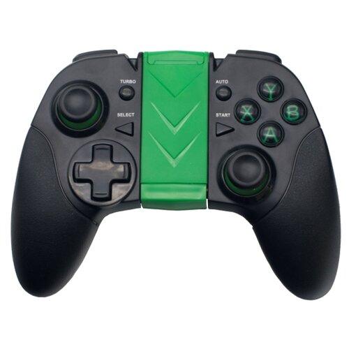 Геймпад Ritmix GP-035BTH черный/зеленый геймпад ritmix gp 055bth черный красный