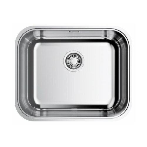 Фото - Интегрированная кухонная мойка 54.5 см OMOIKIRI Omi 54-U/IF-IN нержавеющая сталь врезная кухонная мойка 54 см omoikiri tadzava 54 u i ultra in нержавеющая сталь