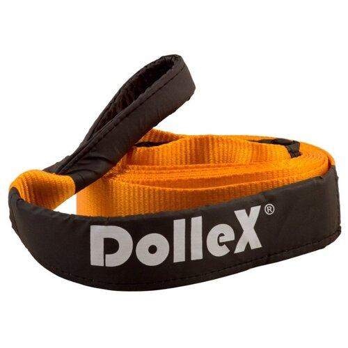 Динамический строп Dollex TD-055 (5 м) (5 т) черный/оранжевый