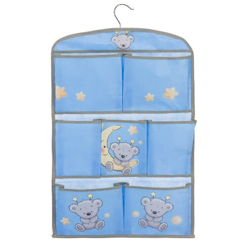 Handy Home Кофр для хранения Мишка голубой