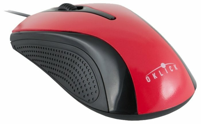 Мышь Oklick 215M Black-Red USB