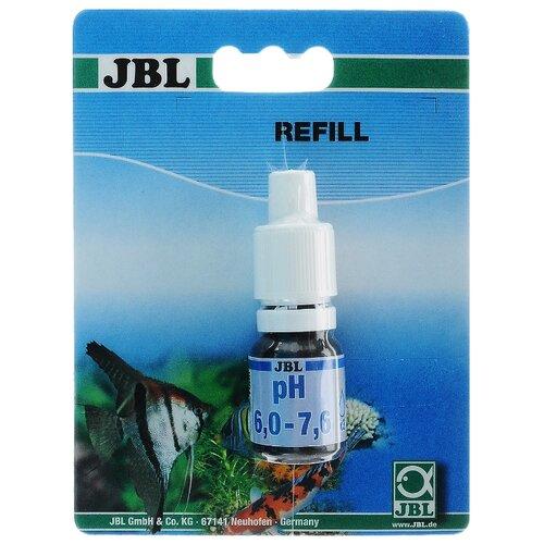 JBL pH 6,0-7,6 Reagent тесты для аквариумной воды, 10 мл