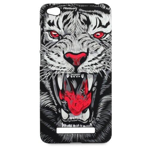 Чехол Pastila Luxo Animals soft touch для Xiaomi Redmi 4A тигр ч/б  - купить со скидкой
