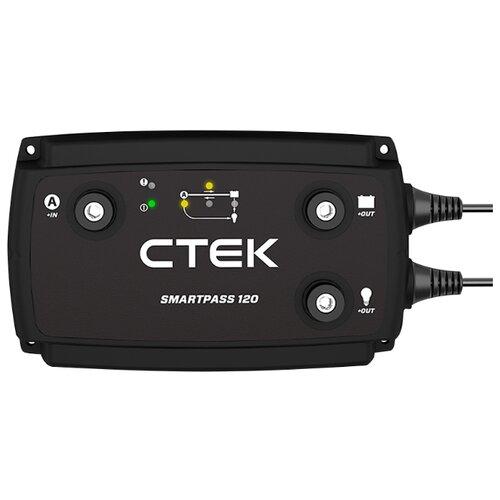Зарядное устройство CTEK Smartpass 120 черный зарядное