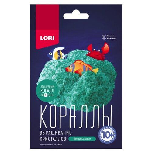 Купить Набор для исследований LORI Выращивание кристаллов. Кораллы изумрудный, Наборы для исследований