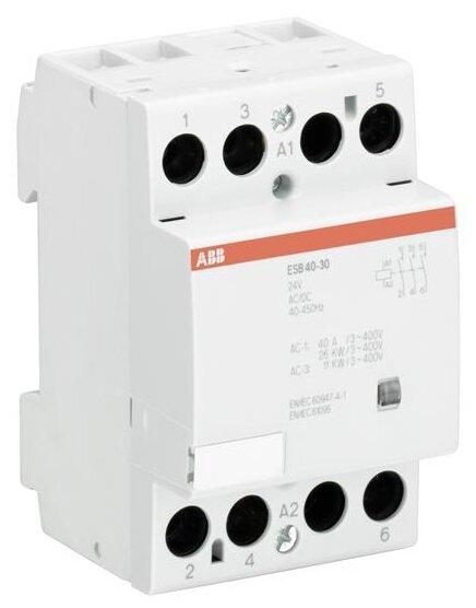 Модульный контактор ABB GHE3491302R0006 40А