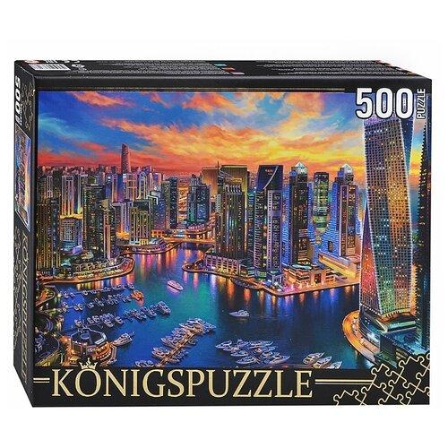 Фото - Пазл Рыжий кот Konigspuzzle Ночные огни Дубая (ХК500-6318), 500 дет. пазл рыжий кот konigspuzzle россия йошкар ола гик1000 6534 1000 дет