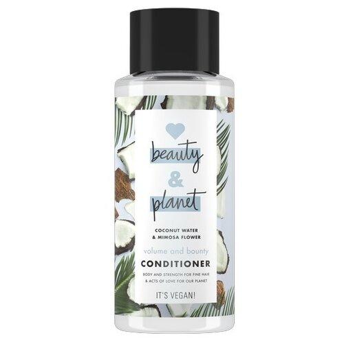 Купить Love Beauty and Planet кондиционер для волос Coconut Water & Mimosa Flower Объем и Щедрость, 400 мл