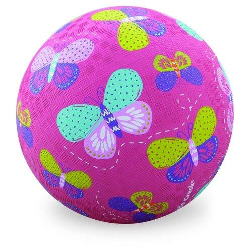 Мяч Crocodile Creek Бабочки розовый crocodile crocodile cr215f yellow
