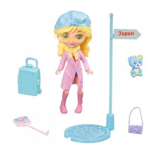 Купить Игровой набор Bondibon куколка OLY путешественница, 11.5 см, BB4318, Куклы и пупсы